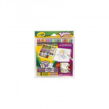 Набор для творчества Crayola 27 цветных карандашей и блокнот для рисования Фото