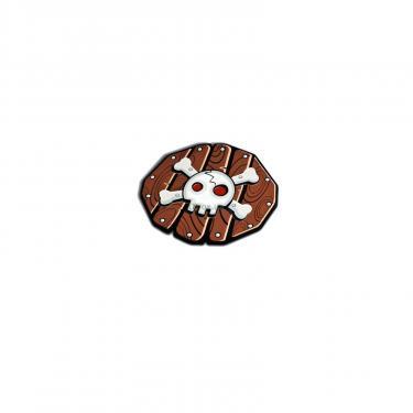 Игрушечное оружие Giro щит Пираты Круглый с черепом Фото