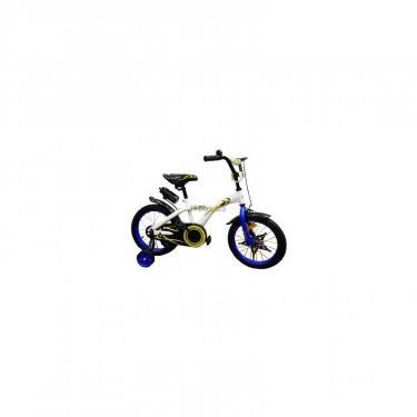 Детский велосипед Miracolo 16K134-WHITEwithBlue Фото