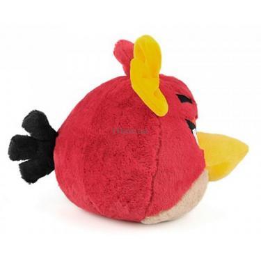 Мягкая игрушка Angry Birds Птичка-девочка красная Фото 2