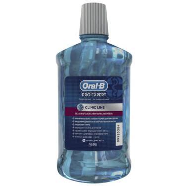 Ополаскиватель для полости рта Oral-B Pro-Expert Clinic Line Прохладная мята 250 мл Фото 1