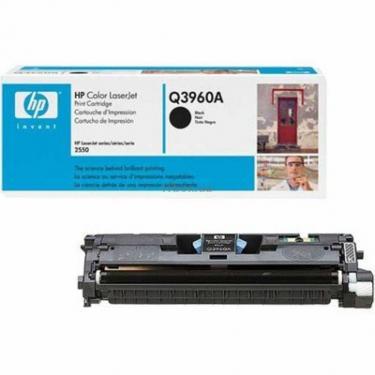 Картридж HP CLJ   122A для 2550 black Фото 1