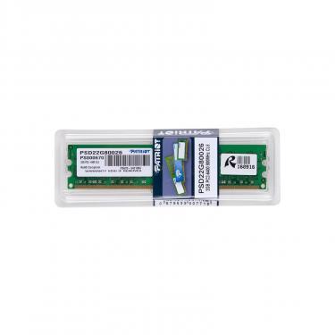 Модуль памяти для компьютера Patriot DDR2 2GB 800 MHz Фото 5