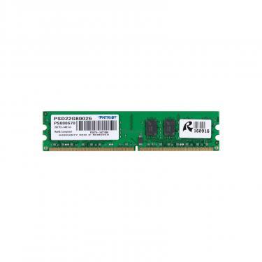 Модуль памяти для компьютера Patriot DDR2 2GB 800 MHz Фото 1