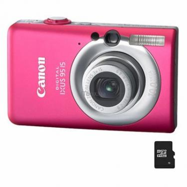 Цифровой фотоаппарат Canon Digital IXUS 95is pink Фото 1