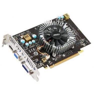 Видеокарта MSI GeForce GT240  512Mb OverClock Фото 1