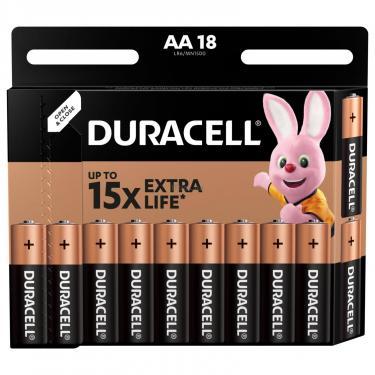 Батарейка Duracell AA MN1500 LR06 * 18 Фото 1