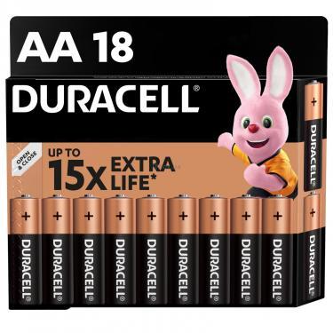 Батарейка Duracell AA MN1500 LR06 * 18 Фото