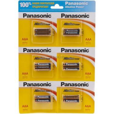 Батарейка PANASONIC LR03 PANASONIC Alkaline Power * 12 Фото