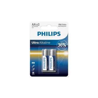 Батарейка PHILIPS LR06 PHILIPS Ultra Alkaline * 2 Фото