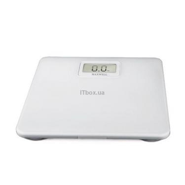 Весы напольные MAXWELL MW-2655 white Фото 1