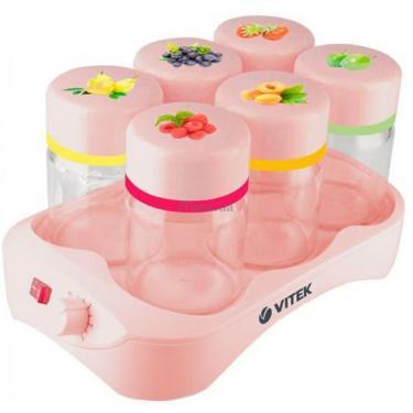Йогуртница VITEK VT-2601 pink Фото