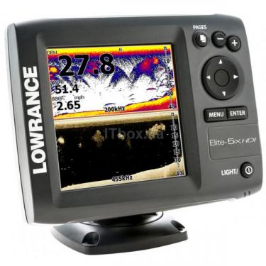 Эхолот Lowrance Elite 5x HDI Фото 2