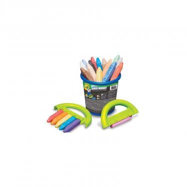 Набор для творчества Crayola мелки для асфальта в ведерке Фото 1