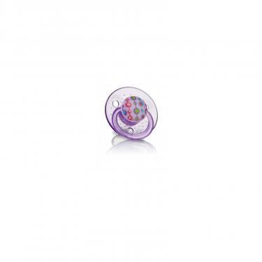 Пустышка Nuby Вишенка, фиолетовая Фото