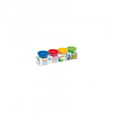 Набор для творчества GENIO KIDS Тесто-пластилин 4 цвета Фото
