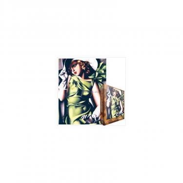 """Пазл EuroGraphics """"Девушка в зеленом"""" Тамар Лемпицка Фото"""