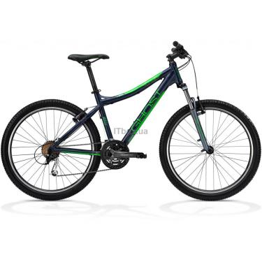 Велосипед Ghost MISS 1800 48 2013 Grey/Green/Grey Фото