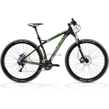 Велосипед Ghost SE 2950 44 2013 Black/White/Green Фото