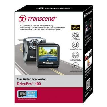 Видеорегистратор Transcend DrivePro 100 Фото 6