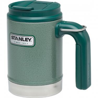 Термокружка Stanley Classic Camp 0.47 л Зеленая Фото 1