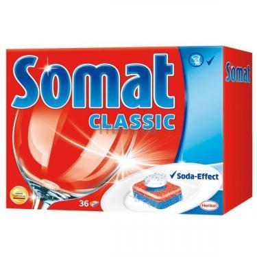 Таблетки для посудомоечных машин Somat Классик 36 шт Фото