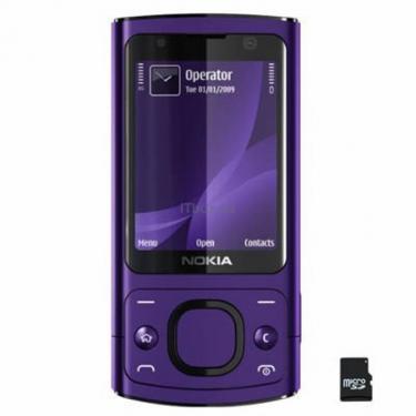 Мобильный телефон Nokia 6700 slider Purple Фото 1