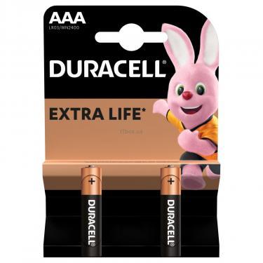 Батарейка Duracell AAA MN2400 LR03 * 2 Фото 1