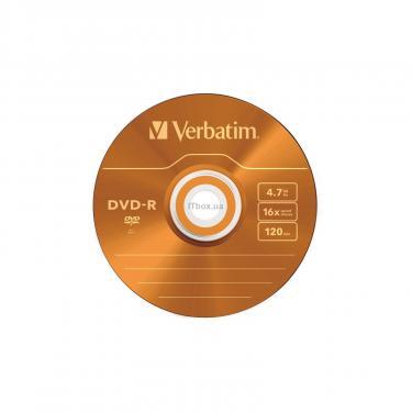 Диск DVD Verbatim 4.7Gb 16X Slim case 5 шт Color Фото 5