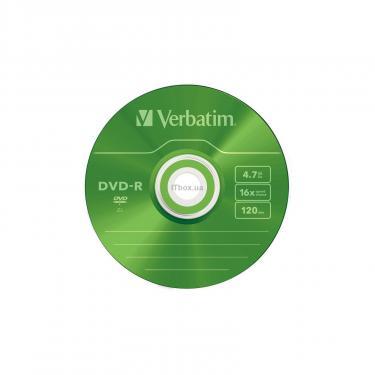 Диск DVD Verbatim 4.7Gb 16X Slim case 5 шт Color Фото 6