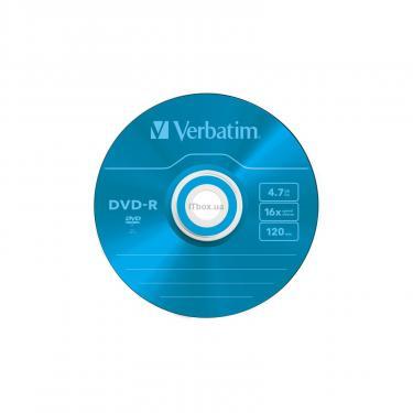 Диск DVD Verbatim 4.7Gb 16X Slim case 5 шт Color Фото 7