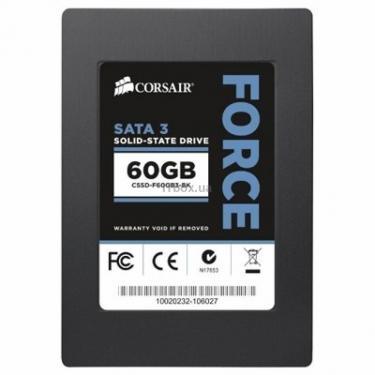 """Накопитель SSD CORSAIR 2.5""""   60GB Фото 1"""