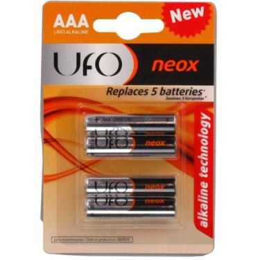 Батарейка UFO LR03 UFO NEOX * 4 Фото