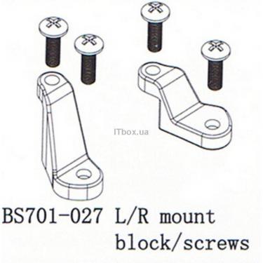 Аксессуар к радиоуправляемой модели BSD Racing Фиксирующие стойки (левая / правая) Фото