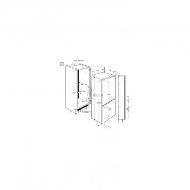 Холодильник ELECTROLUX ENN92800AW Фото 1