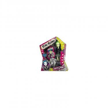 Кукла Funville Pixie Punks с браслетом для девочки, с зелеными во Фото