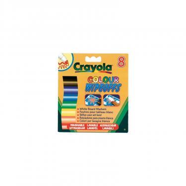 Набор для творчества Crayola 8 стираемых фломастеров для письма на доске Фото