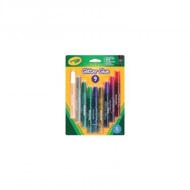 Набор для творчества Crayola клей с блестками 9 цветов Фото