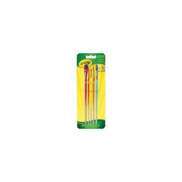 Набор для творчества Crayola 5 кисточек для рисования красками Фото
