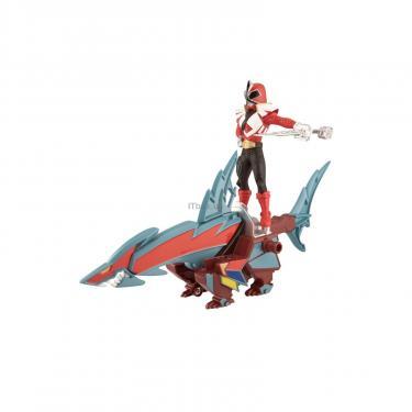 Фигурка Power Rangers Зорд-акула и Красный рейнджер Фото