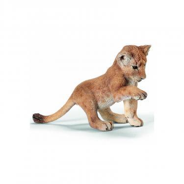 Фигурка Schleich Играющий львенок Фото