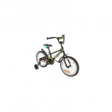 """Детский велосипед Lerock RX16 Boy 16"""" black/red Фото 1"""