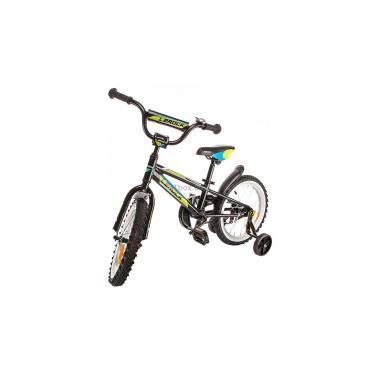"""Детский велосипед Lerock RX16 Boy 16"""" black/red Фото 2"""