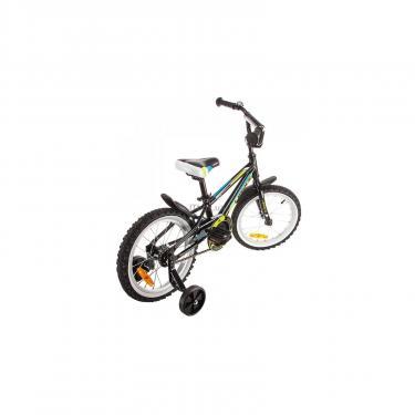 """Детский велосипед Lerock RX16 Boy 16"""" black/red Фото 3"""