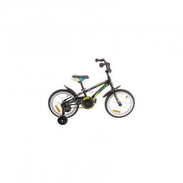 """Детский велосипед Lerock RX16 Boy 16"""" black/red Фото"""