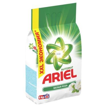 Стиральный порошок Ariel Белая Роза 6 кг Фото